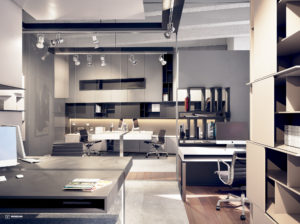 Retail design office interiors