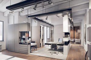 Dizajn obchodnych priestorov a kancelarie