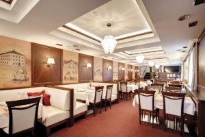 Interier restauracie hotela Hviezdoslav