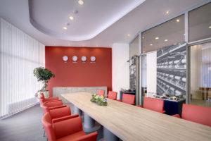 Interiérový dizajn kancelárie Chemosvit