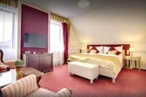 Interierovy dizajn luxusny hotelovy apartman