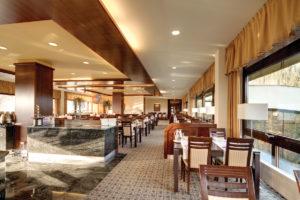 Interierovy dizajn hotelovej restauracie