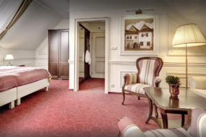Interierovy dizajn Deluxe izba hotel