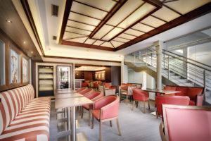 Kaviarensky a reštauračný interiér