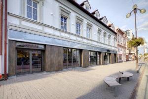 Interier obchodneho centra Poprad