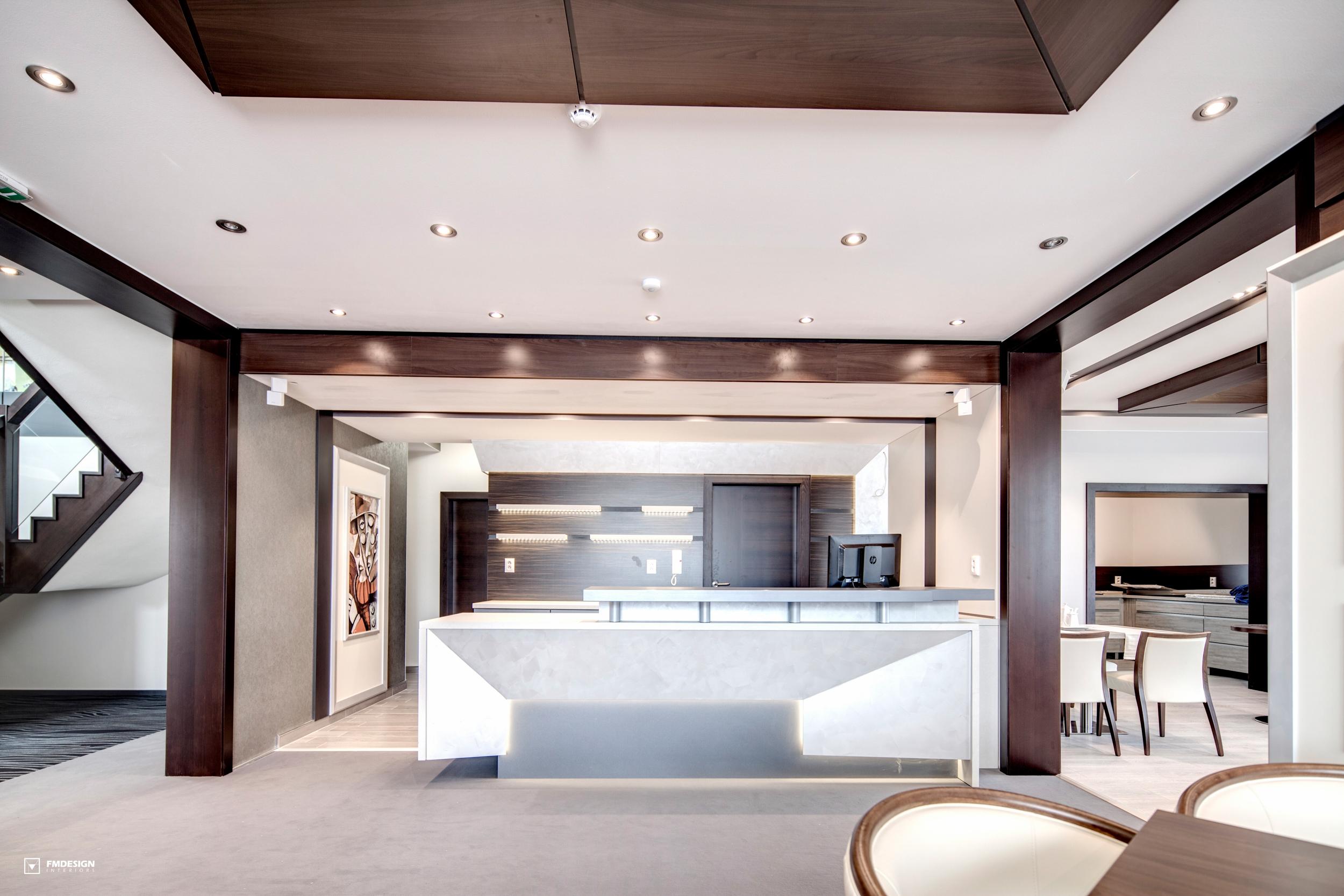 Interiérový Dizajn komerčných priestorov hotel