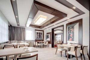 interiérový dizajn reštaurácie a kaviarne villa zauber