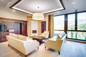 Hotelový interiér prezidentský apartmán