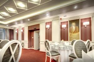 Interierovy dizajn hotelovy salonik