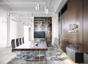 Moderný interiérový dizajn office