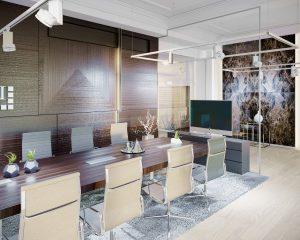 Dizajn kancelárie interiér