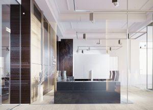 Dizajn interiéru kancelárie