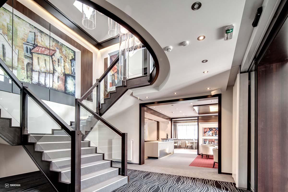 Dizajn hotelového interiéru Villa Zauber