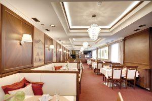 Interiér reštaurácie Hotel Hviezdoslav FMDESIGN