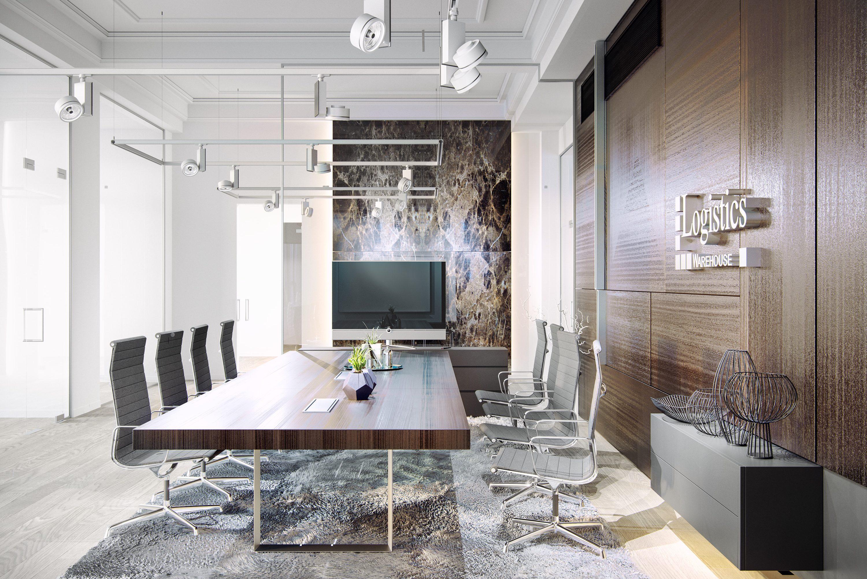 Návrh interiéru kancelárie