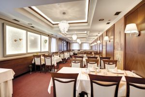 Interiérový dizajn reštaurácia Hotel Hviezdoslav
