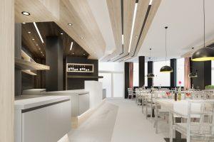 Reštauračný a hotelový interiér
