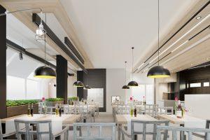 Reštauračný interiér