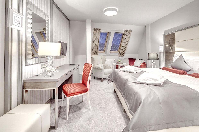 Dizajn komerčných priestorov Hotelova Izba Deluxe