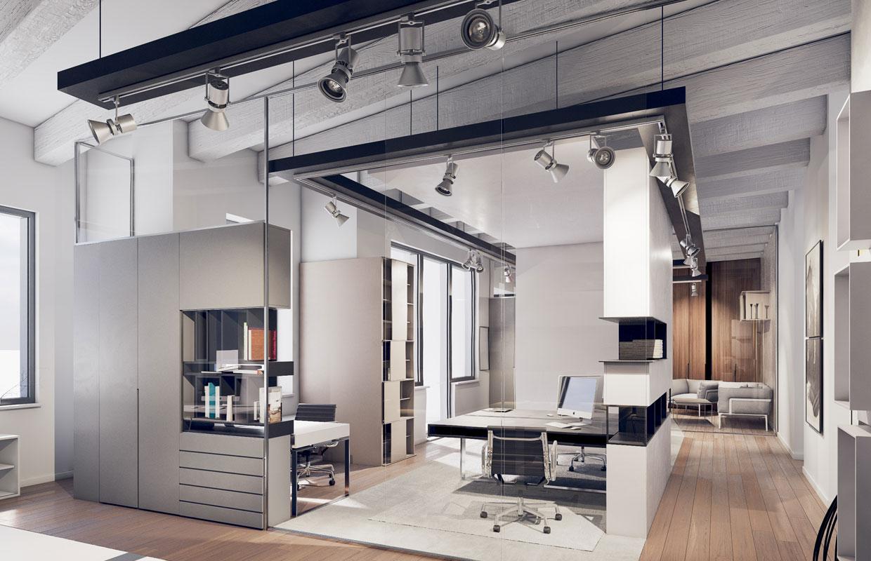 dizajn komerčných priestorov