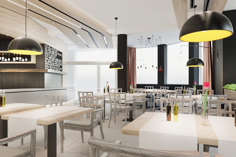 Reštauračné a hotelové interiéry
