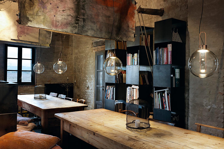 Restauracny dizajn interier