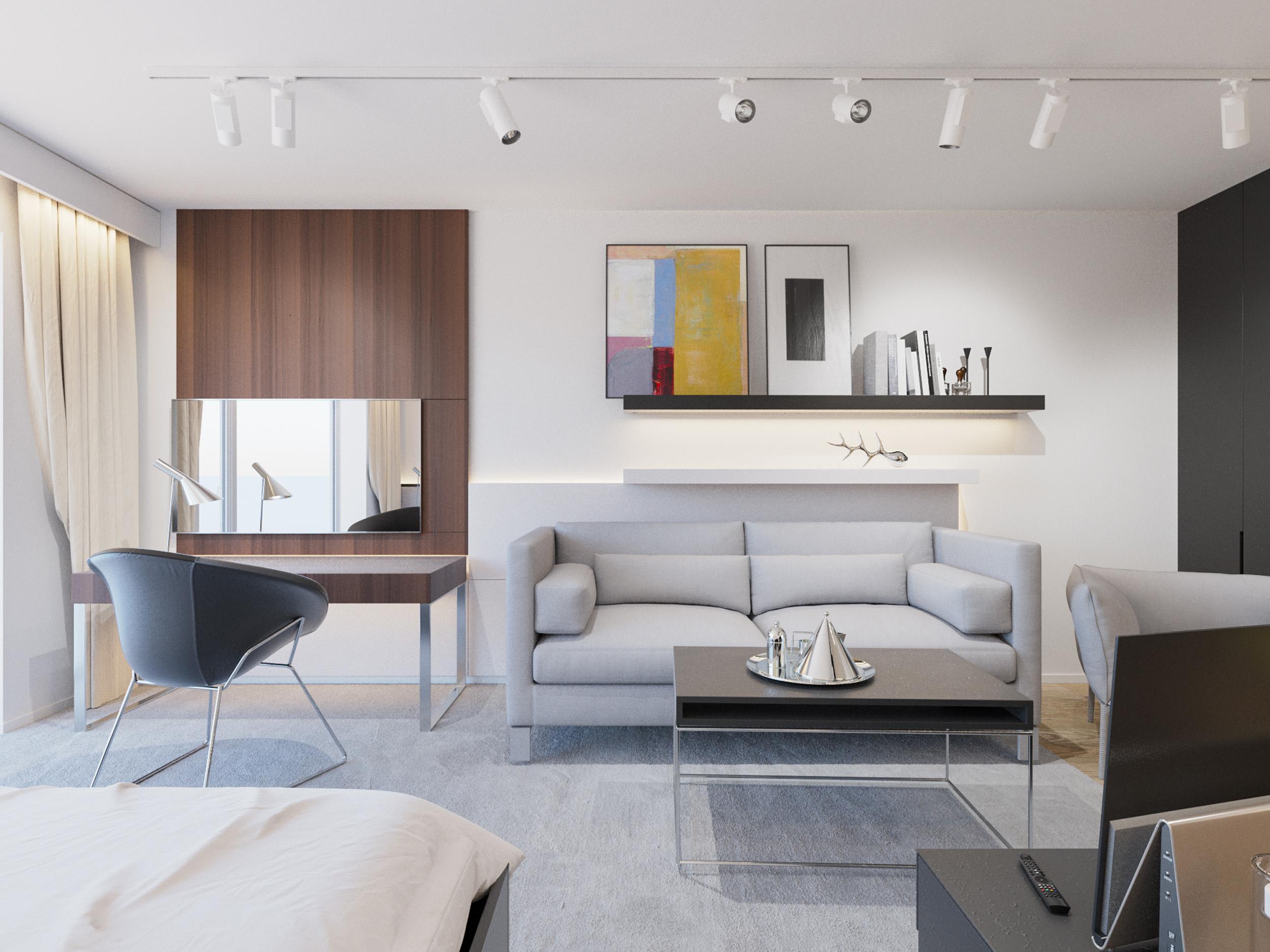 3D visualisierung innendesign interior