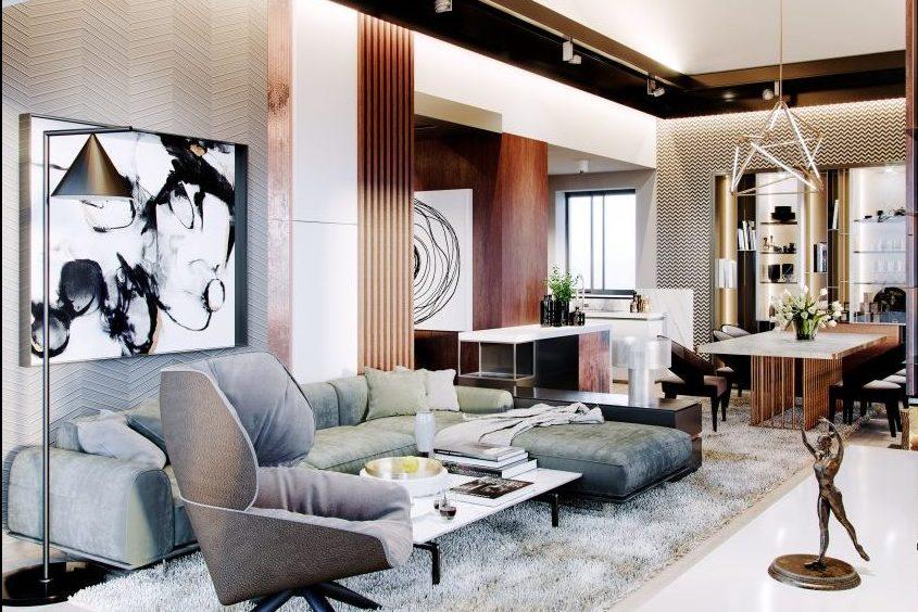 Luxusny rodinny dom interierovy dizajn