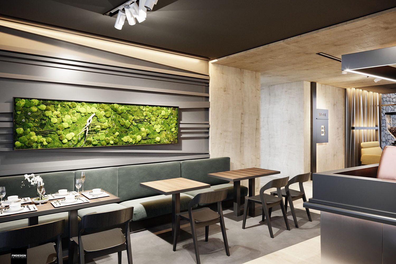 Dizajn lobby baru Hrebienok Resort