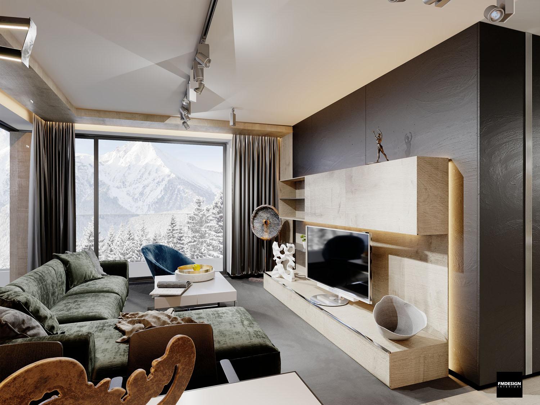 Elegantný apartmán Hrebienok Resort