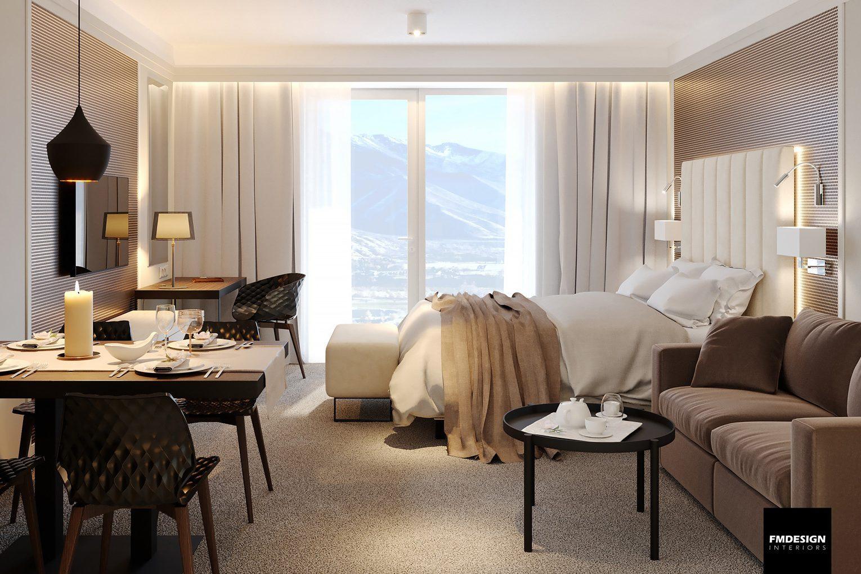 luxusny hotelovy apartman interier