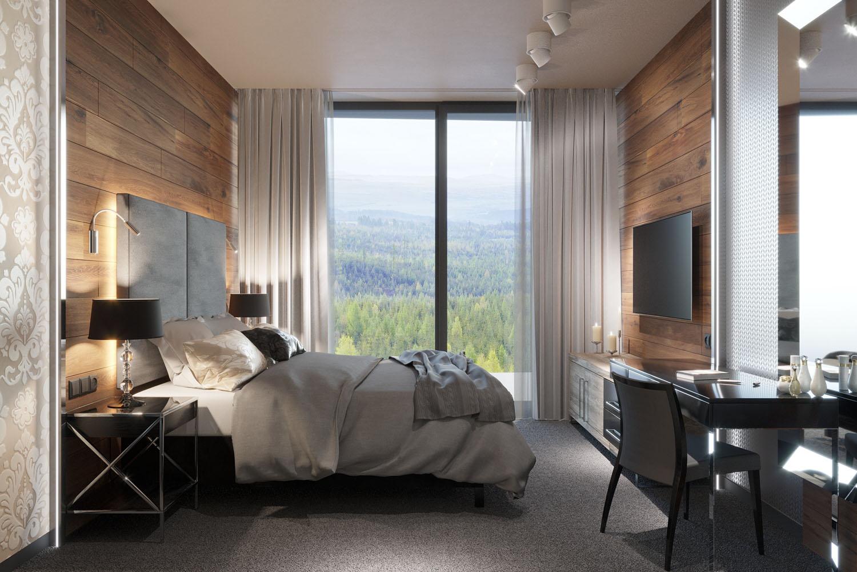 Útulný apartmán v horskom štýle