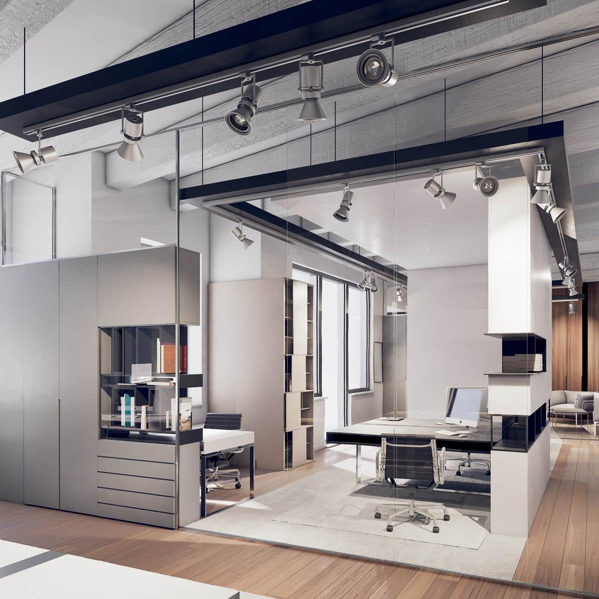 Interierovy dizajn Office a Retail interiéry